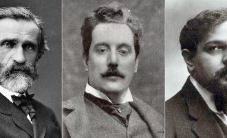 Verdi, Puccini, Debussy