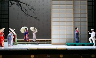 Madama Butterfly Rehearsal