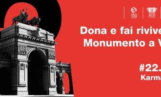 #22.2.22 Video mapping per il Monumento a Verdi