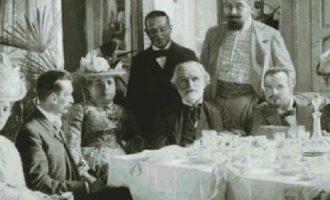 A cena con Verdi