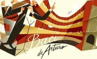 Una cartolina d'autore per Toscanini