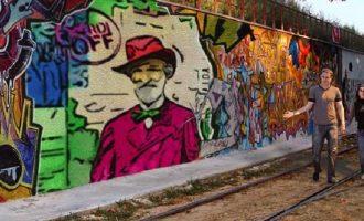 Verdi OFF urban painting