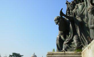 Cerimonia in memoria di Giuseppe Verdi