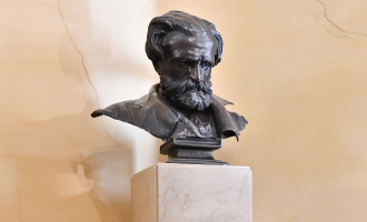 Ceremony in memory of Giuseppe Verdi