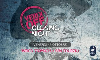 VERDI OFF CLOSING PARTY