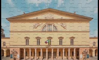 Biglietti puzzle (Facciata del del Teatro Regio di Parma)